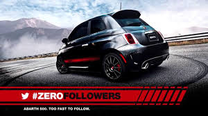 Zero followers Fiat