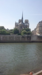 Notre Dame across the Seine